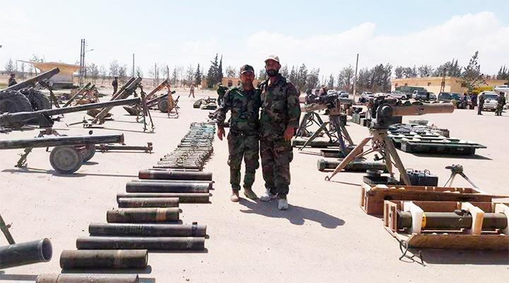 ШАМ. Просаудовская группировка «Джейш Ислам» сдала Асаду исламскую территорию и все вооружение